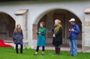Catrin, Veronika, Maria und Cami (von links)